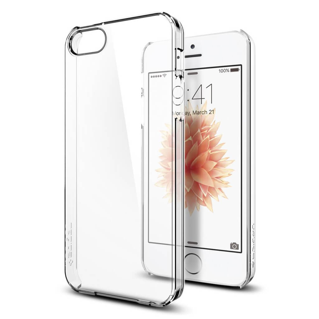 Spigen® Thin Fit™ 041CS20246 iPhone SE / 5s / 5 Case - Crystal Clear