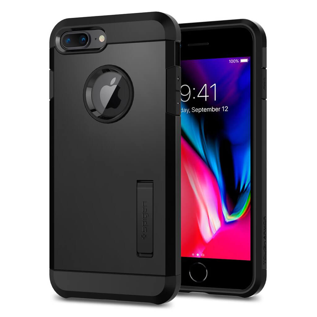 Spigen® Tough Armor™ 2nd Generation 055CS22246 iPhone 8 Plus / 7 Plus Case - Black