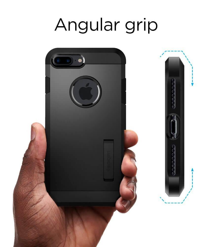 Spigen® Tough Armor™ 2nd Generation 055CS22246 iPhone 8 Plus / 7 Plus Case - Black