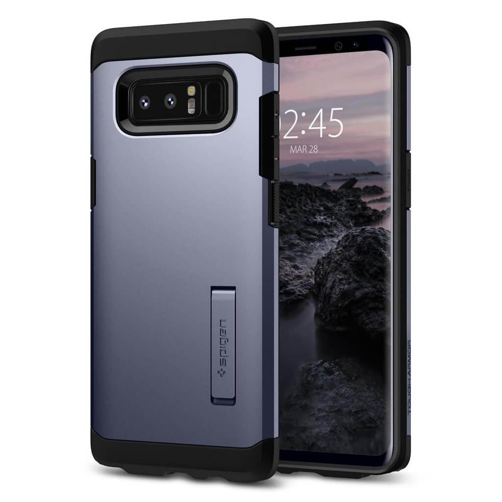 Spigen® Tough Armor™ 587CS22081 Samsung Galaxy Note 8 Case - Orchid Gray