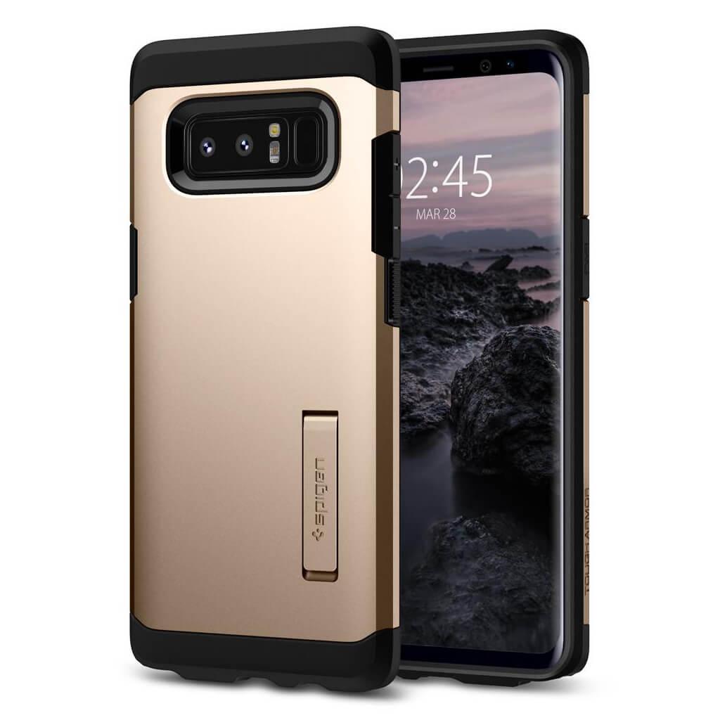 Spigen® Tough Armor™ 587CS22082 Samsung Galaxy Note 8 Case - Maple Gold
