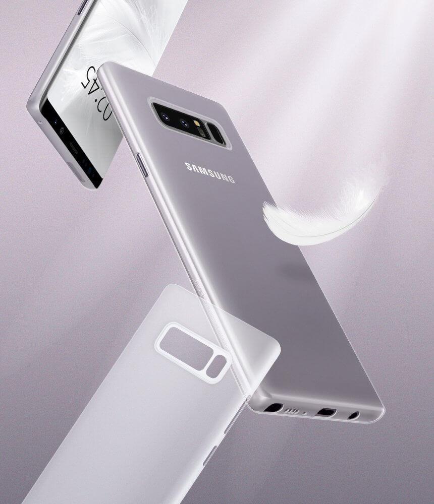 premium selection f3a6f 1a290 Spigen® AirSkin™ 587CS22050 Samsung Galaxy Note 8 Case - Soft Clear