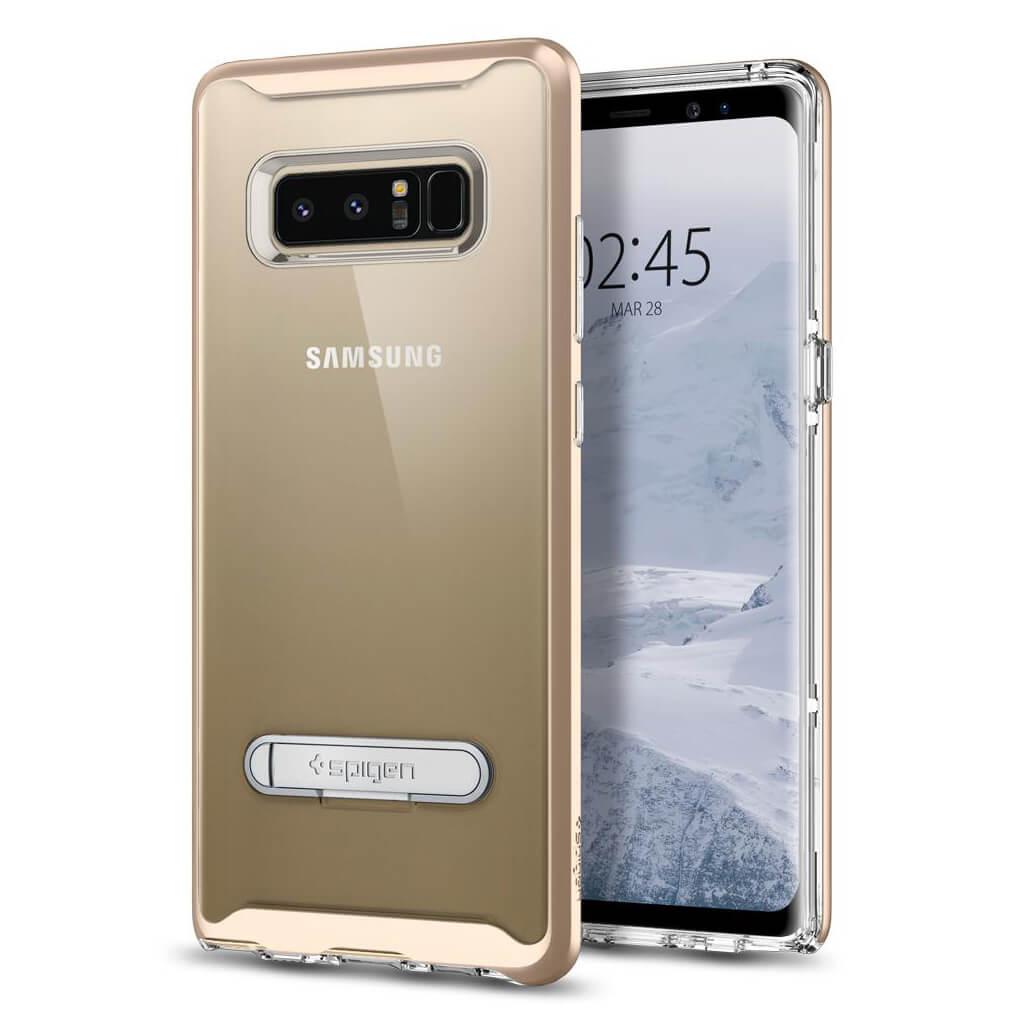 Spigen® Crystal Hybrid™ 587CS21840 Samsung Galaxy Note 8 Case - Champagne Gold