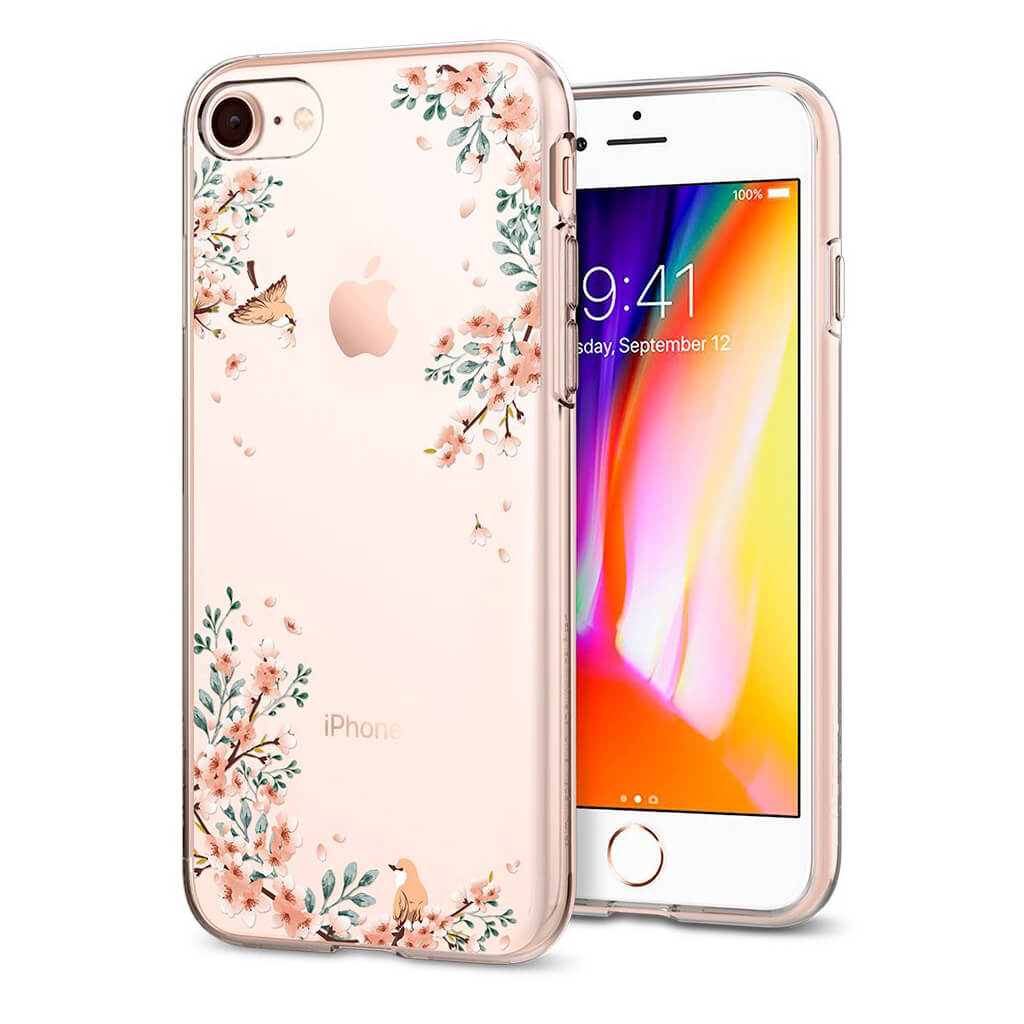 Spigen® Liquid Crystal™ 054CS22290 iPhone 8 / 7 Case - Blossom
