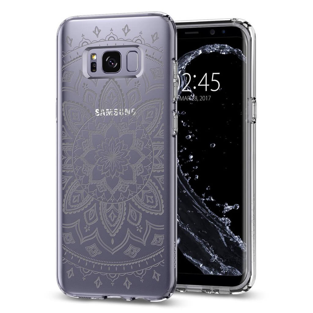Spigen® Liquid Crystal™ 571CS21666 Samsung Galaxy S8+ Plus Case - Shine Clear