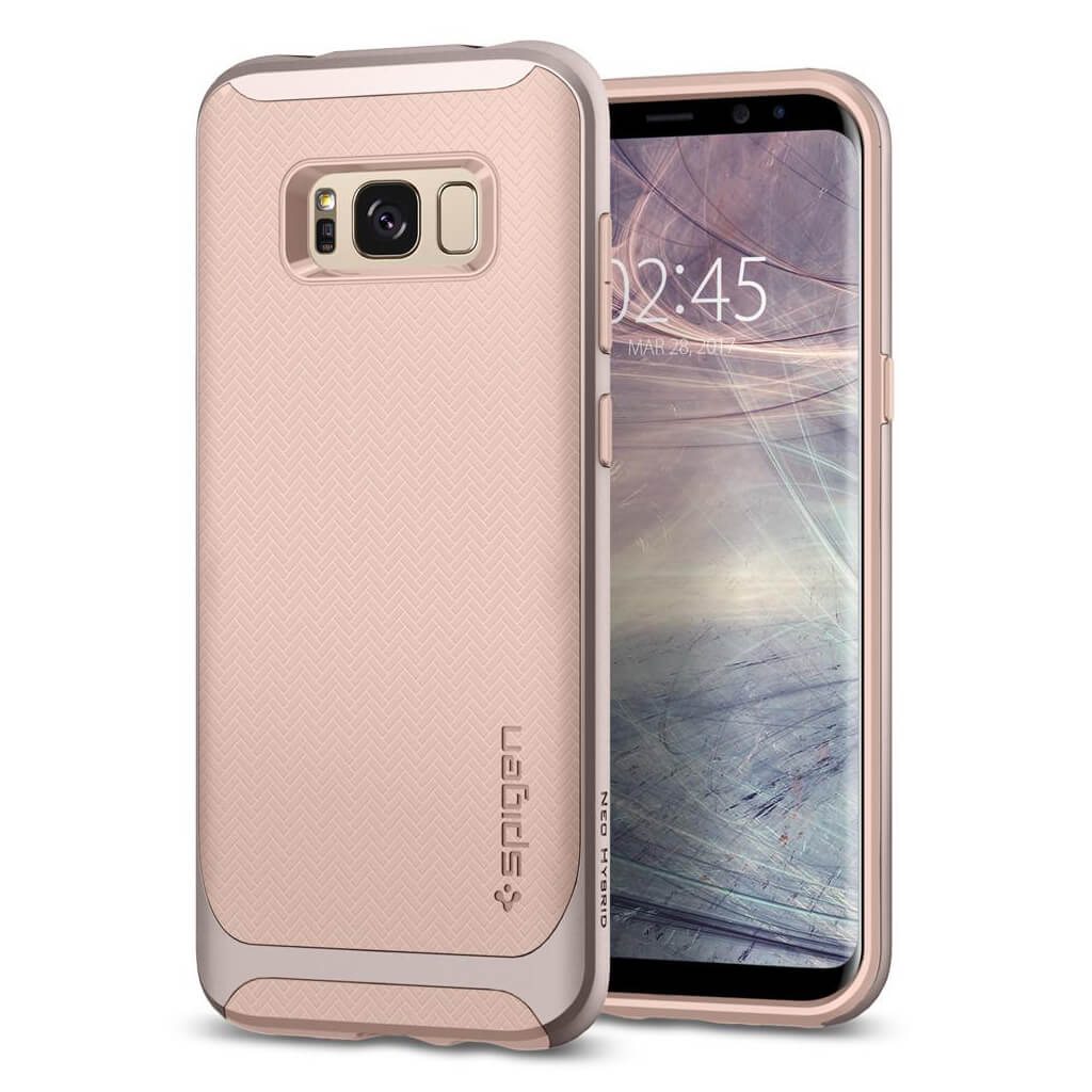 Spigen® Neo Hybrid™ 565CS21601 Samsung Galaxy S8 Case - Pale Dogwood
