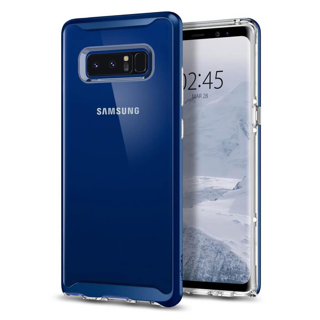 Spigen® Neo Hybrid Crystal™ 587CS22094 Samsung Galaxy Note 8 Case - Deep Sea Blue