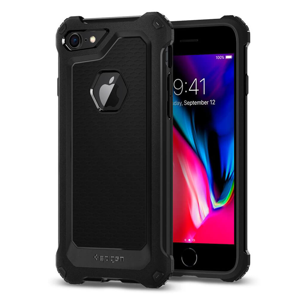 Spigen® Rugged Armor Extra™ 042CS21491 iPhone 8 / 7 Case - Black