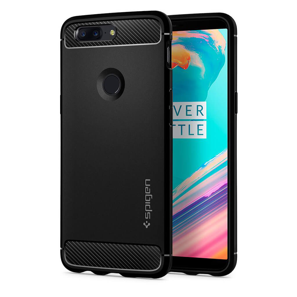 Spigen® Rugged Armor™ K05CS22712 OnePlus 5T Case - Black