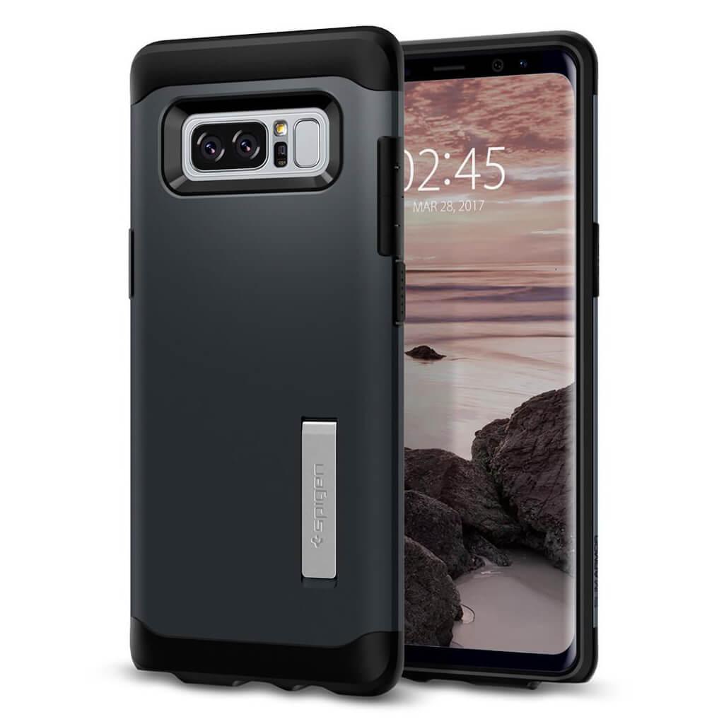 Spigen® Slim Armor™ 587CS21834 Samsung Galaxy Note 8 Case - Metal Slate