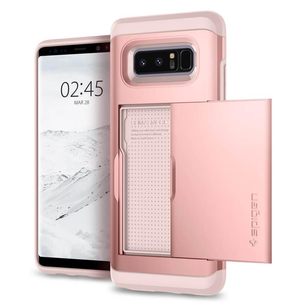 Spigen® Slim Armor CS™ 587CS22074 Samsung Galaxy Note 8 Case - Rose Gold