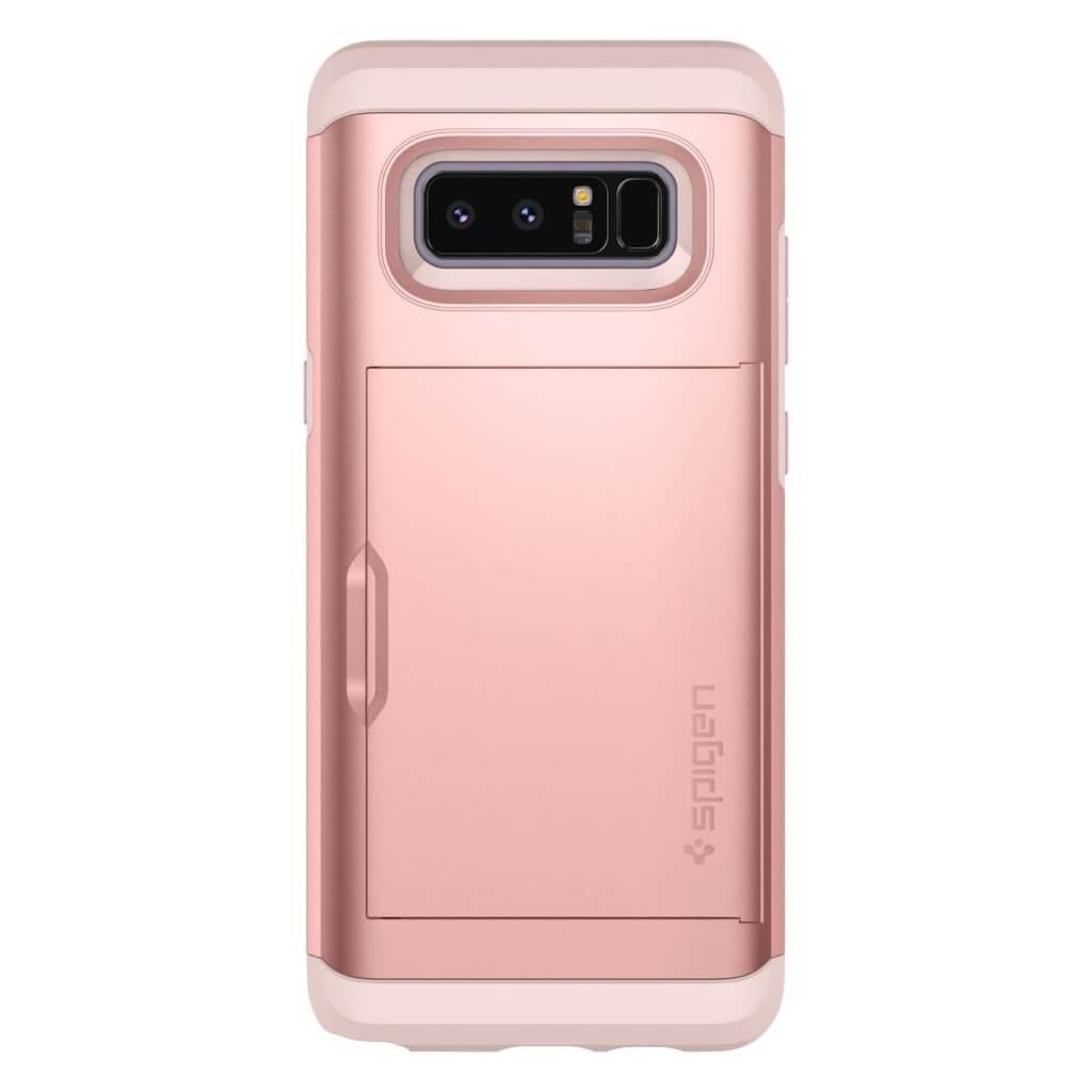 outlet store d3887 a76f9 Spigen® Slim Armor CS™ 587CS22074 Samsung Galaxy Note 8 Case - Rose Gold    spaceboy*