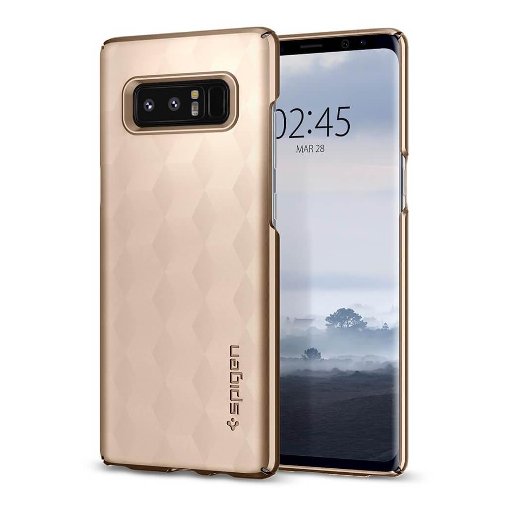 Spigen® Thin Fit™ 587CS22053 Samsung Galaxy Note 8 Case - Maple Gold