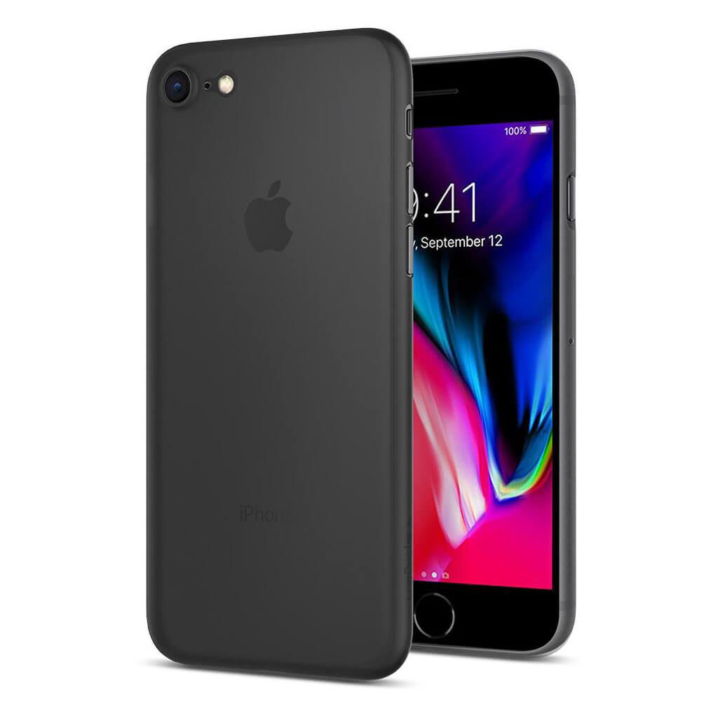 Spigen® Air Skin™ 054CS22591 iPhone 8 Case - Black