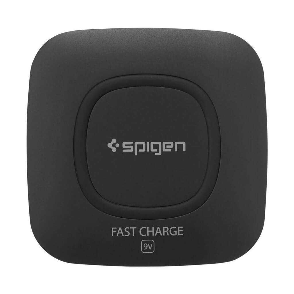 Spigen® F301W 000CH20727 Qi Fast Wireless Charger - Black