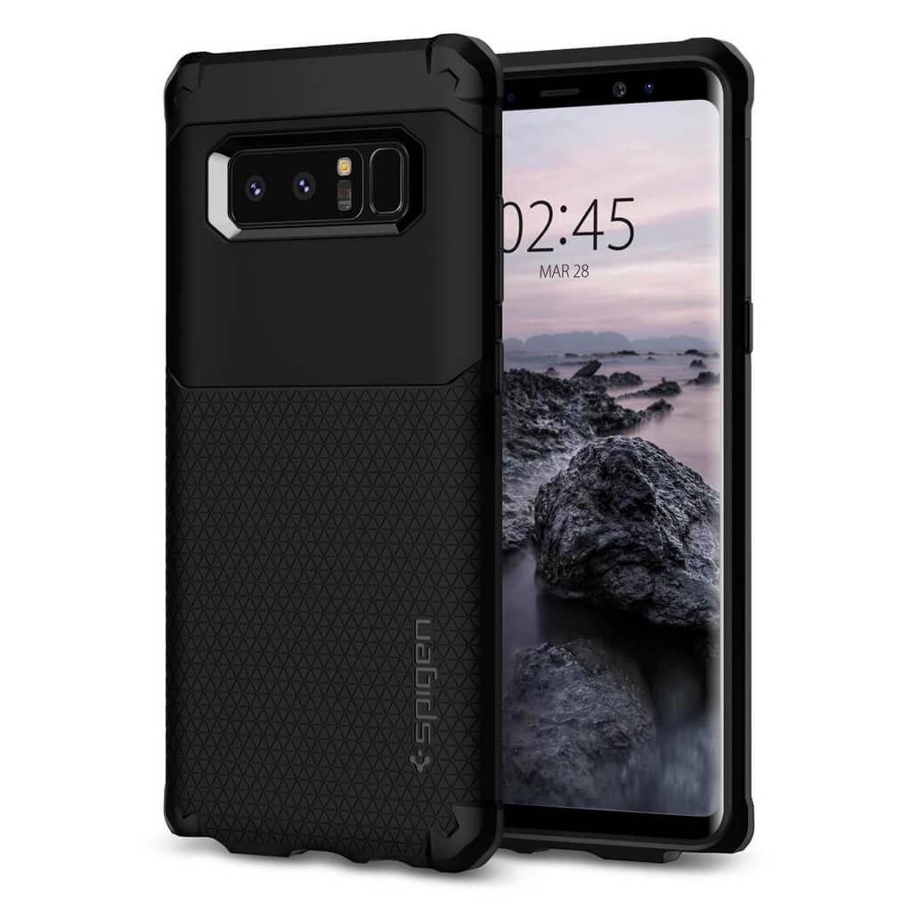 Spigen® Hybrid Armor™ 587CS22075 Samsung Galaxy Note 8 Case - Black