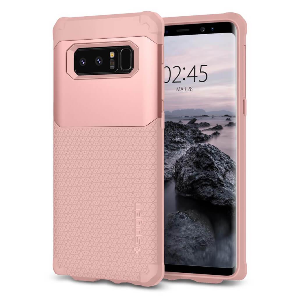 Spigen® Hybrid Armor™ 587CS22077 Samsung Galaxy Note 8 Case - Rose Gold