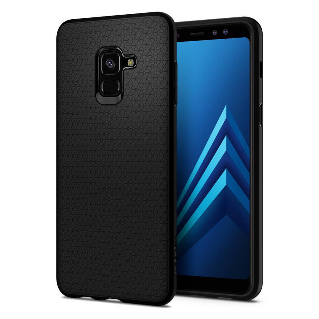 Spigen® Liquid Air Armor™ 590CS22747 Samsung Galaxy A8 (2018) Case - Matte Black
