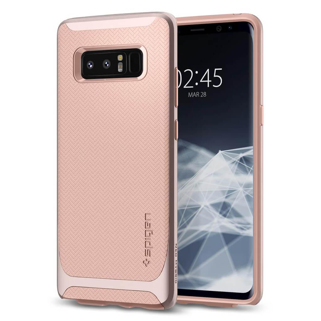 Spigen® Neo Hybrid™ 587CS22088 Samsung Galaxy Note 8 Case - Pale Dogwood