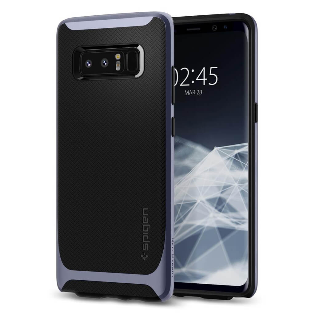 Spigen® Neo Hybrid™ 587CS22089 Samsung Galaxy Note 8 Case - Orchid Gray