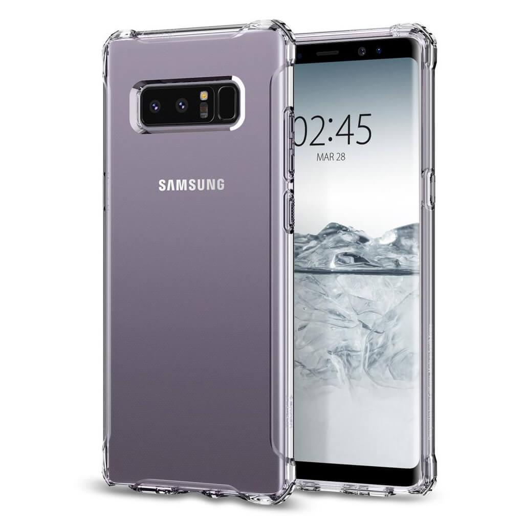 Spigen® Rugged Crystal™ 587CS22062 Samsung Galaxy Note 8 Case - Crystal Clear