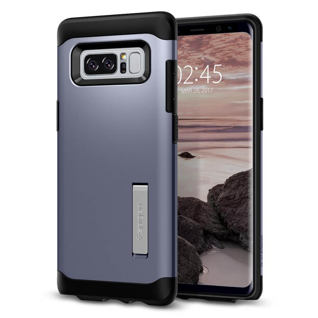 Spigen® Slim Armor™ 587CS21836 Samsung Galaxy Note 8 Case - Orchid Gray
