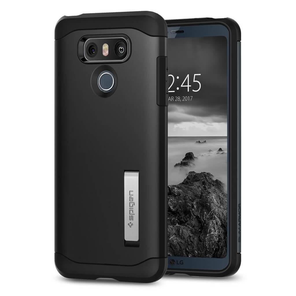 Spigen® Slim Armor™ A21CS21239 LG G6 Case - Black