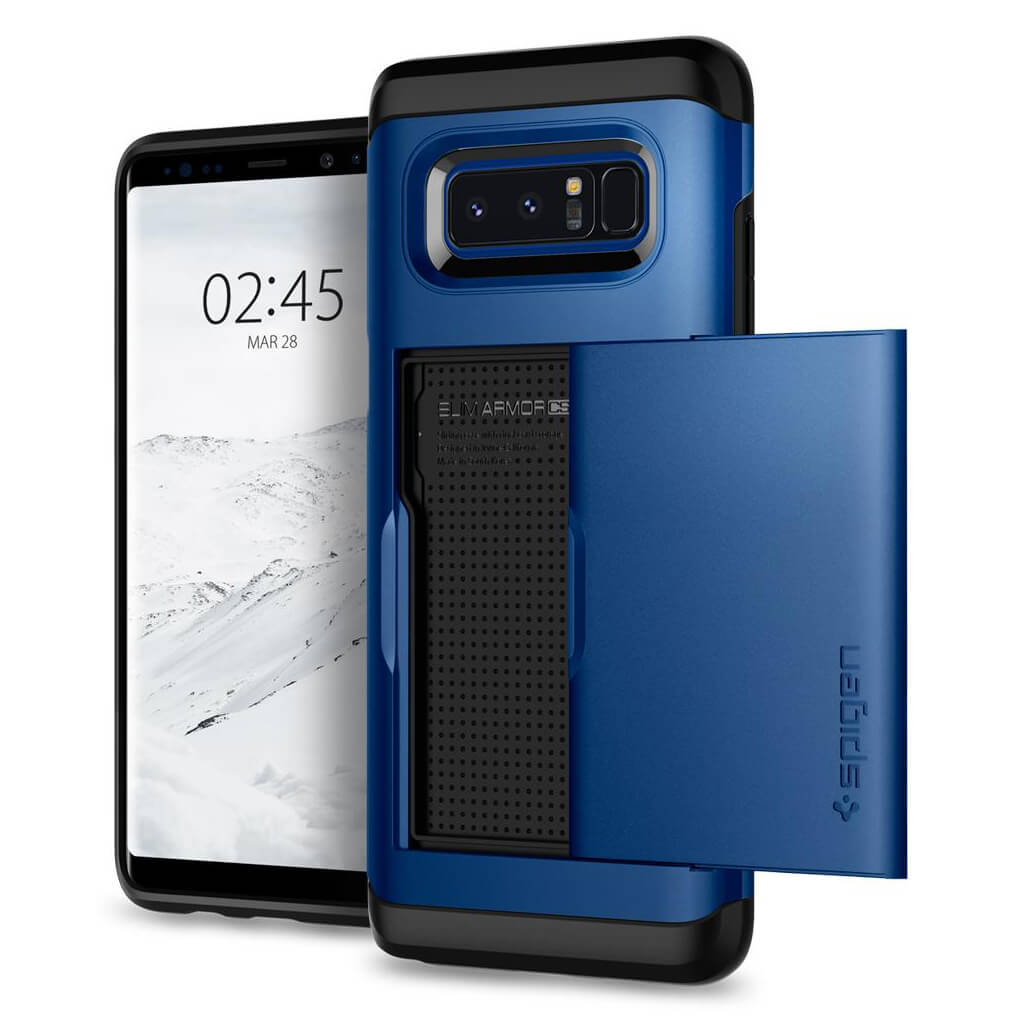 Spigen® Slim Armor CS™ 587CS22072 Samsung Galaxy Note 8 Case - Deep Sea Blue