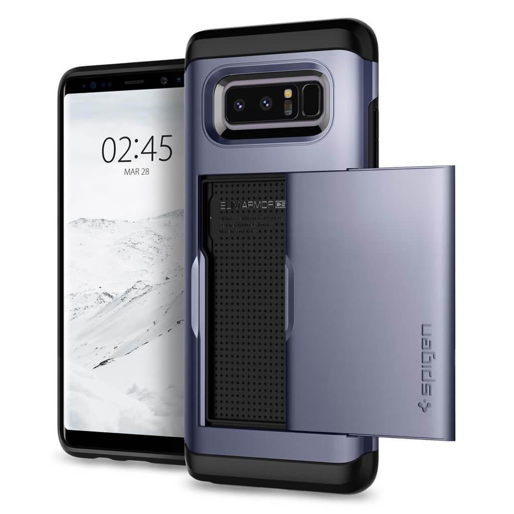 Spigen® Slim Armor CS™ 587CS22073 Samsung Galaxy Note 8 Case - Orchid Gray
