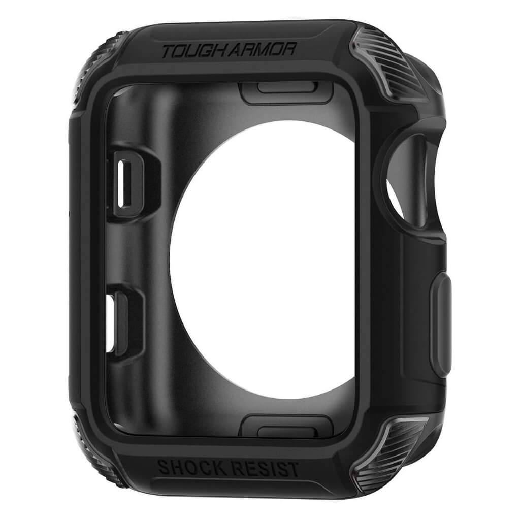 Spigen® Tough Armor™ 2nd Generation 059CS22405 Apple Watch Series 3/2/1 (42mm) Case - Matte Black