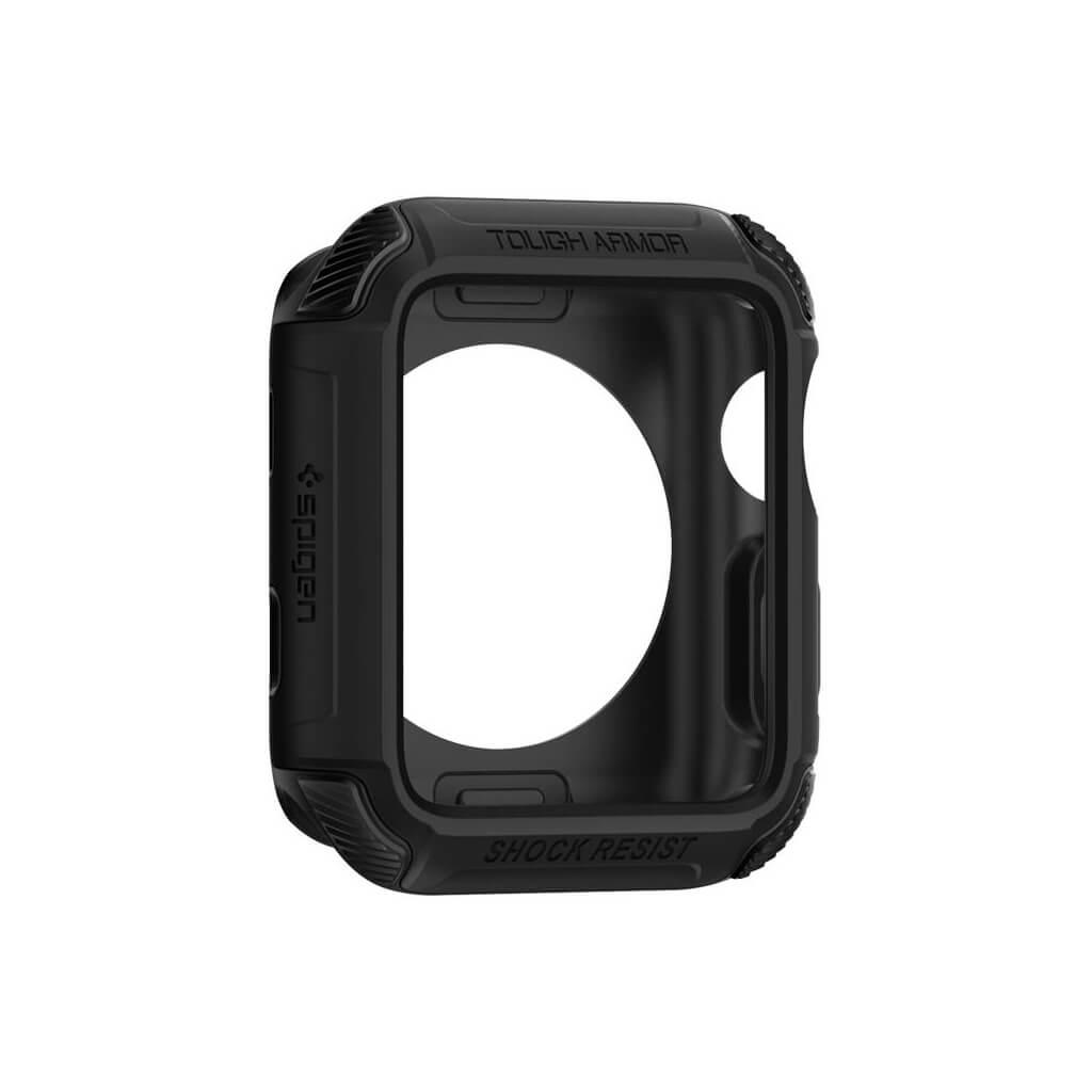 Spigen® Tough Armor™ 2nd Generation 059CS22405 Apple Watch Series 3/2/1 (42mm) Case - Matte Black
