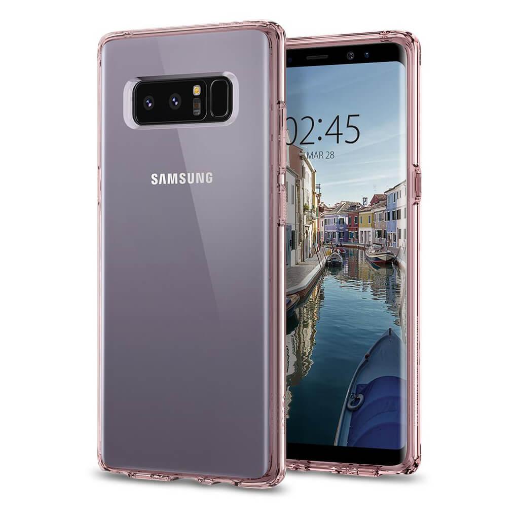 Spigen® Ultra Hybrid™ 587CS22064 Samsung Galaxy Note 8 Case - Crystal Pink