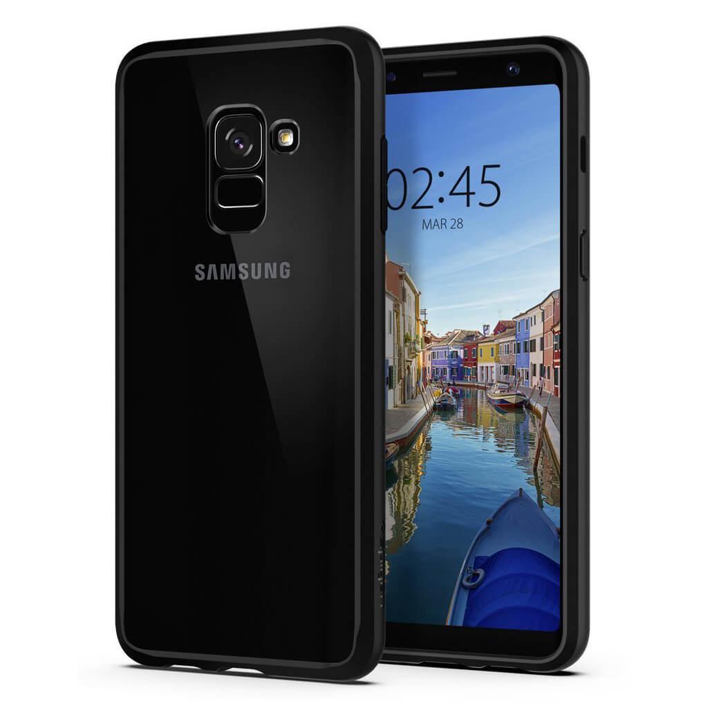 Spigen® Ultra Hybrid™ 590CS22751 Samsung Galaxy A8 (2018) - Matte Black