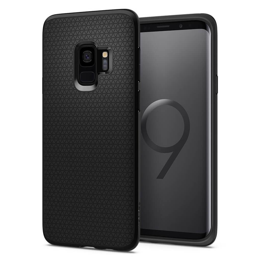 Spigen® Liquid Air™ 592CS22833 Samsung Galaxy S9 Case - Matte Black