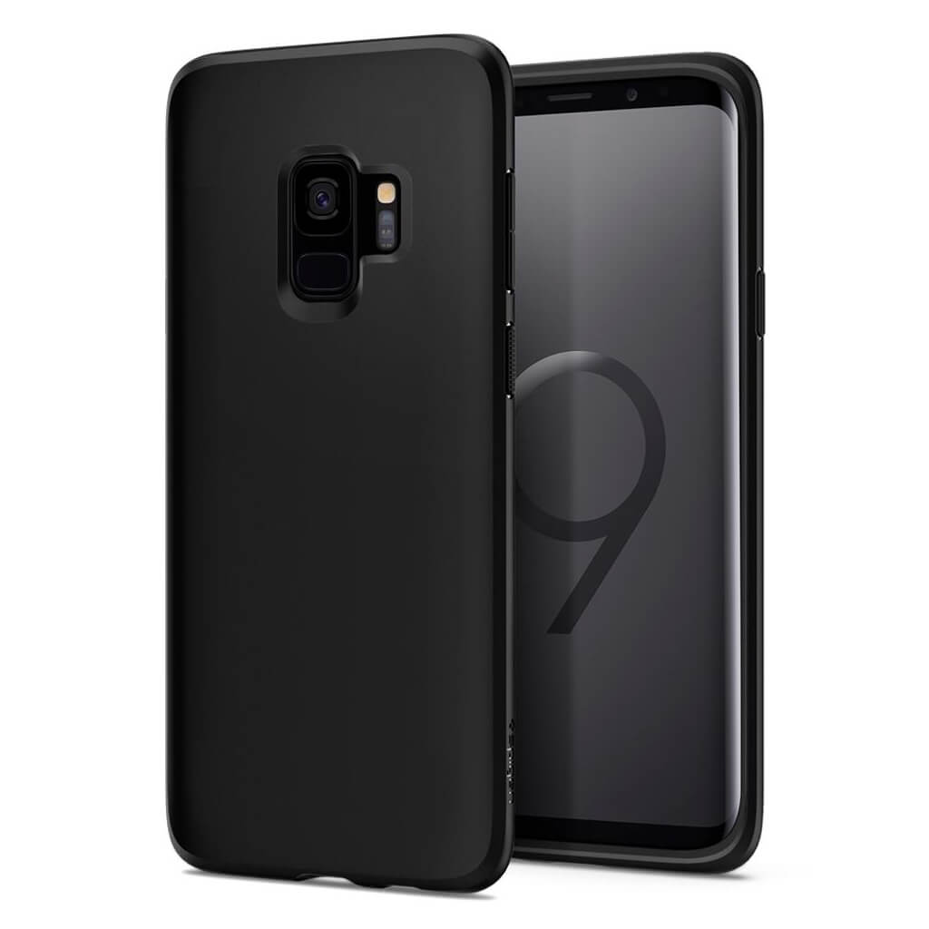 Spigen® Liquid Crystal™ 592CS22825 Samsung Galaxy S9 Case - Matte Black