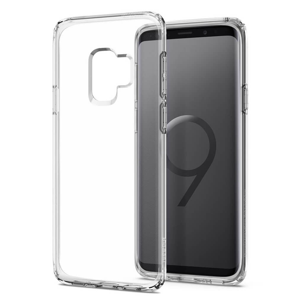Spigen® Liquid Crystal™ 592CS22826 Samsung Galaxy S9 Case - Crystal Clear