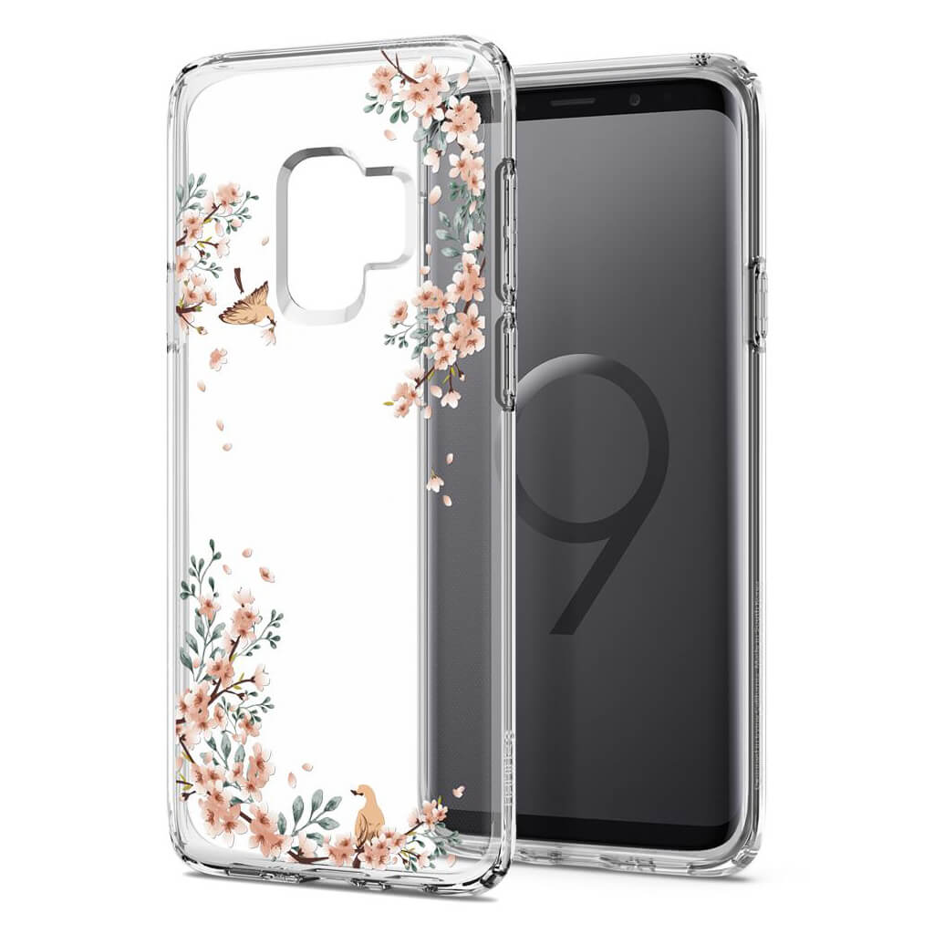 Spigen® Liquid Crystal Blossom™ 592CS22828 Samsung Galaxy S9 Case - Nature