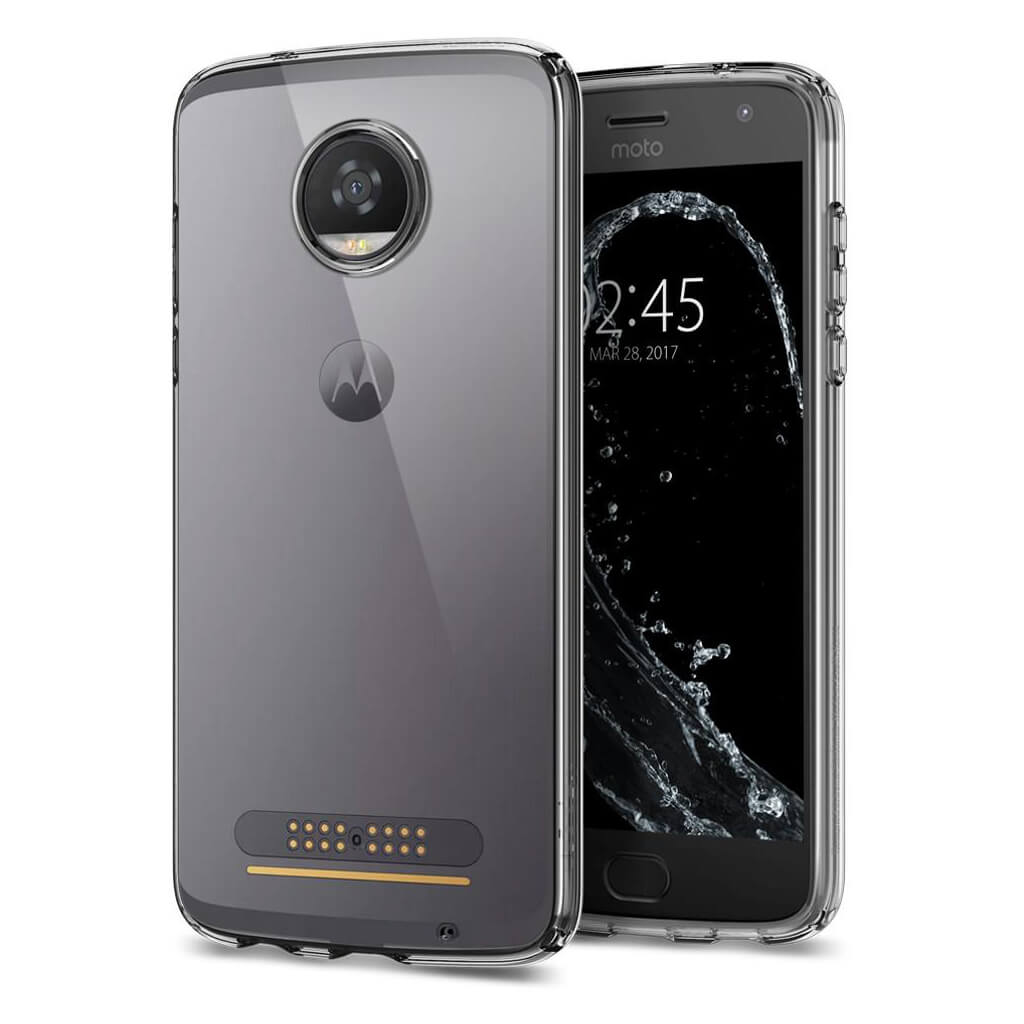 Spigen® Liquid Crystal™ M10CS21985 Moto Z2 Play Case - Crystal Clear
