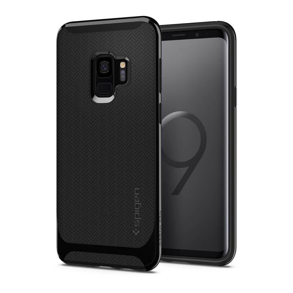 Spigen® Neo Hybrid™ 592CS22855 Samsung Galaxy S9 Case - Shiny Black