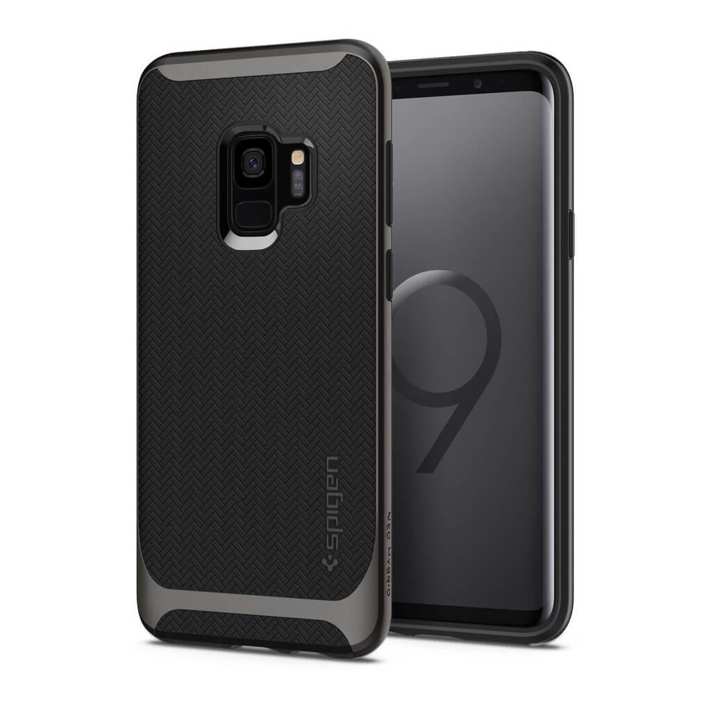 Spigen® Neo Hybrid™ 592CS22856 Samsung Galaxy S9 Case - Gunmetal