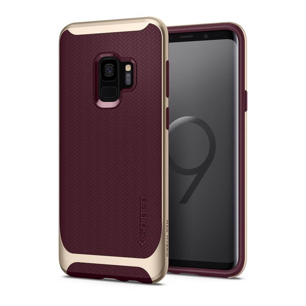 Spigen® Neo Hybrid™ 592CS22857 Samsung Galaxy S9 Case - Burgundy