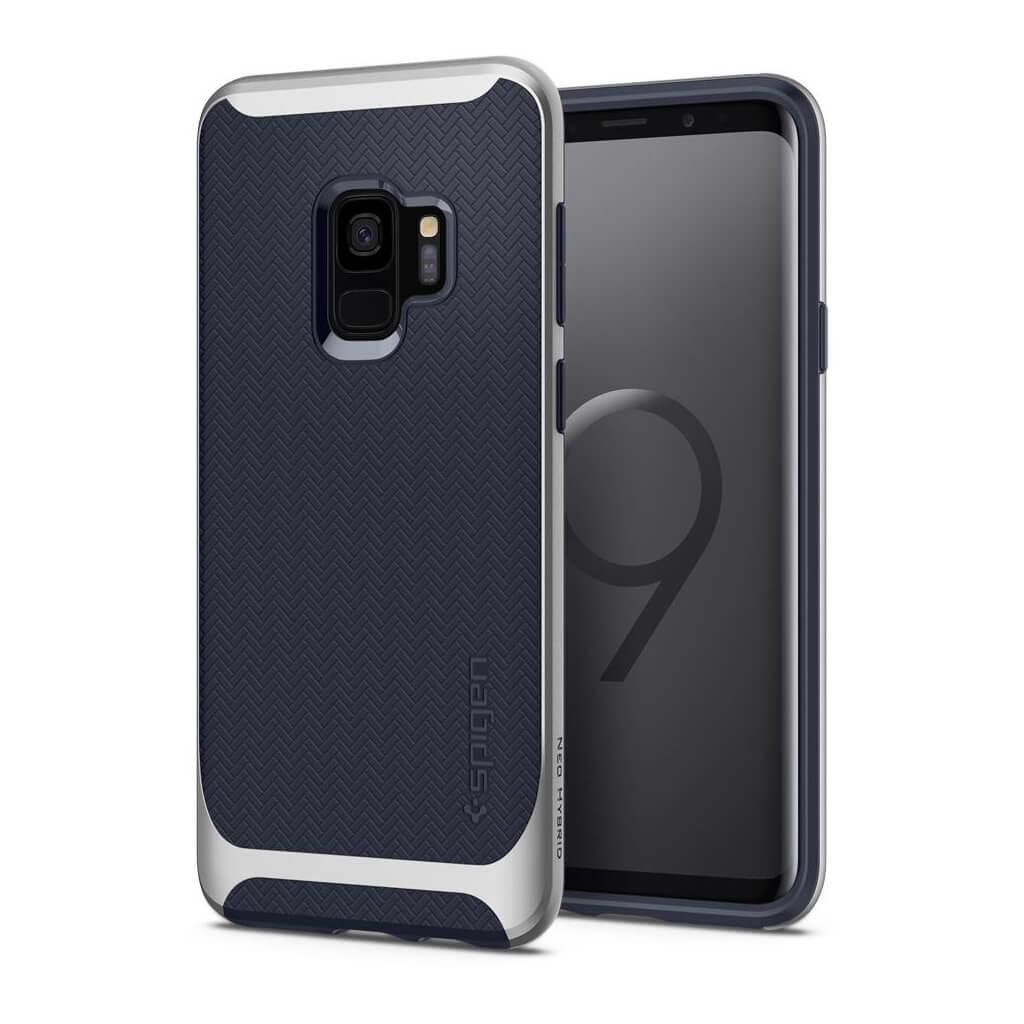 Spigen® Neo Hybrid™ 592CS22858 Samsung Galaxy S9 Case - Arctic Silver