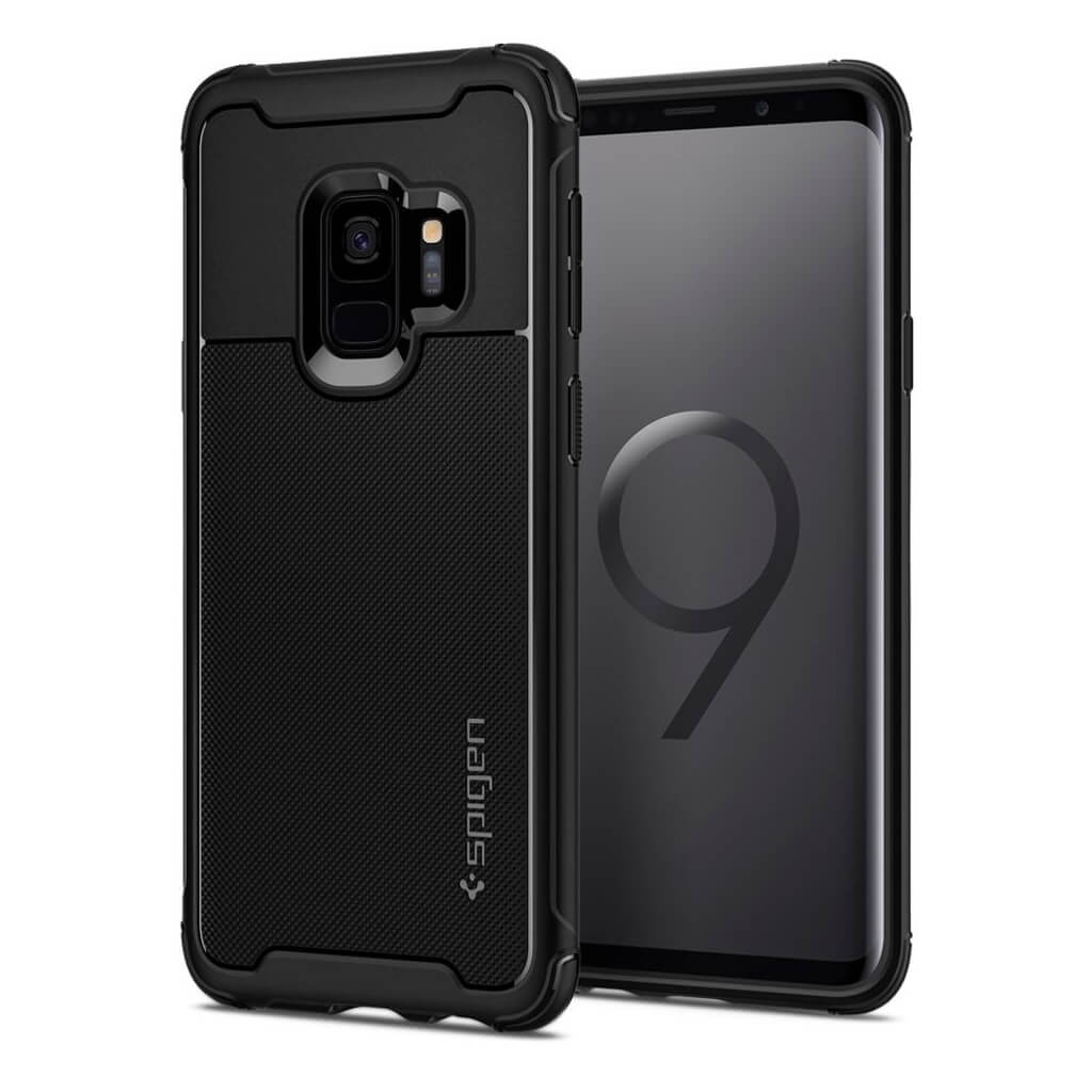 Spigen® Rugged Armor Urban™ 592CS22875 Samsung Galaxy S9 Case - Black