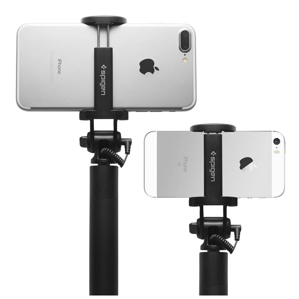 Spigen® S530 000SS21431 Selfie Stick Battery Free Wired