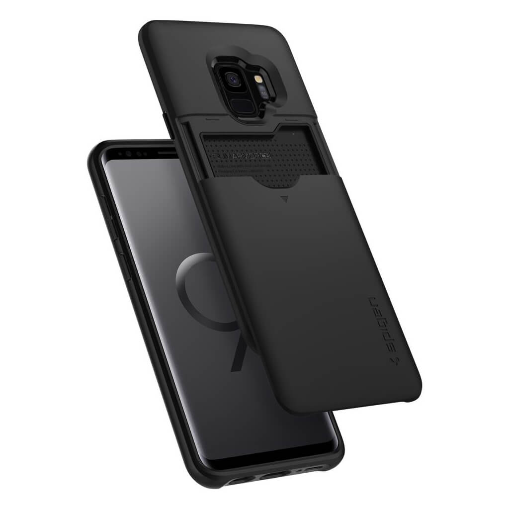 Spigen® Slim Armor CS™ 592CS22863 Samsung Galaxy S9 Case - Black