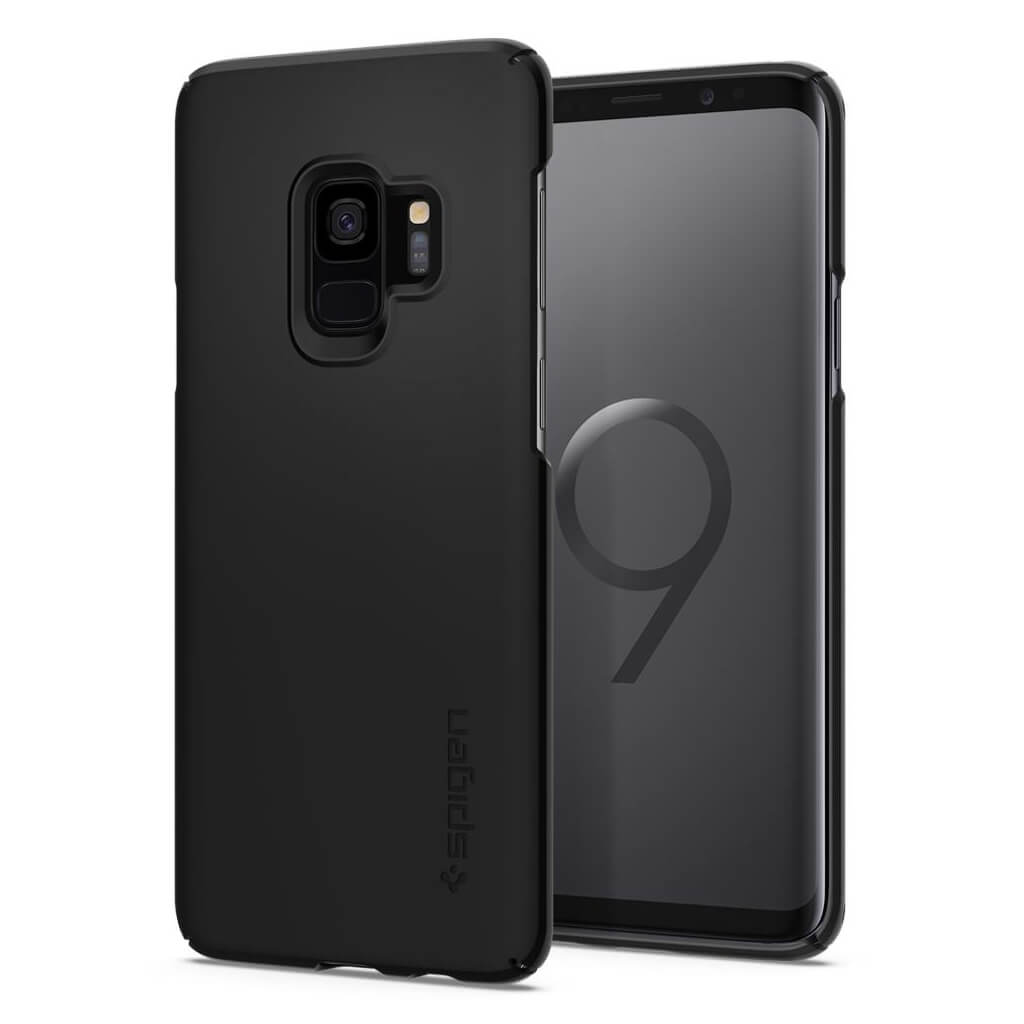 Spigen® Thin Fit™ 592CS22821 Samsung Galaxy S9 Case - Black