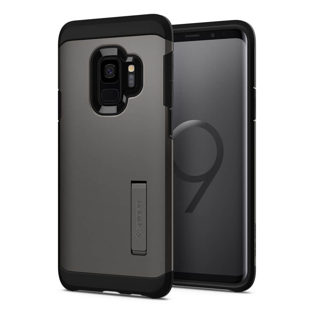Spigen® Tough Armor™ 592CS22845 Samsung Galaxy S9 Case - Gunmetal