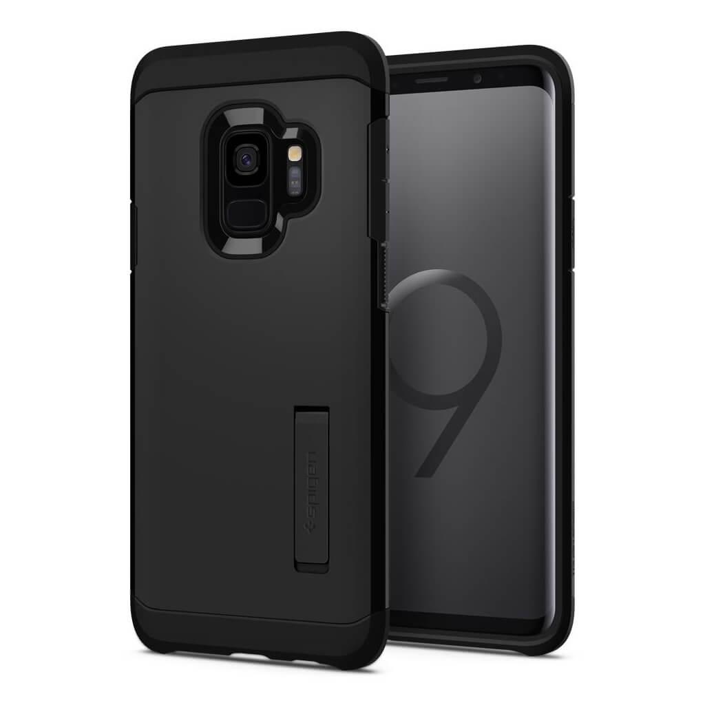 Spigen® Tough Armor™ 592CS22846 Samsung Galaxy S9 Case - Black