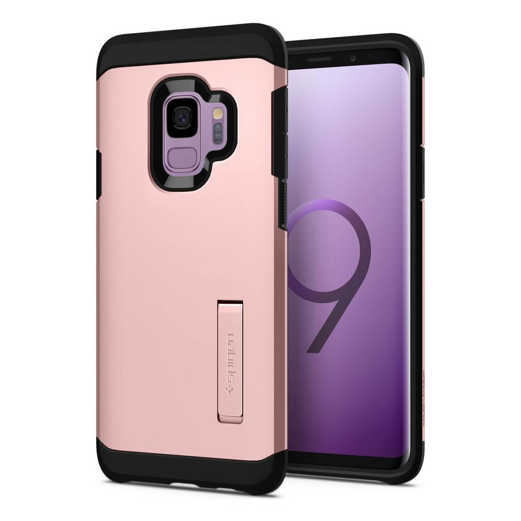 Spigen® Tough Armor™ 592CS22847 Samsung Galaxy S9 Case - Rose Gold
