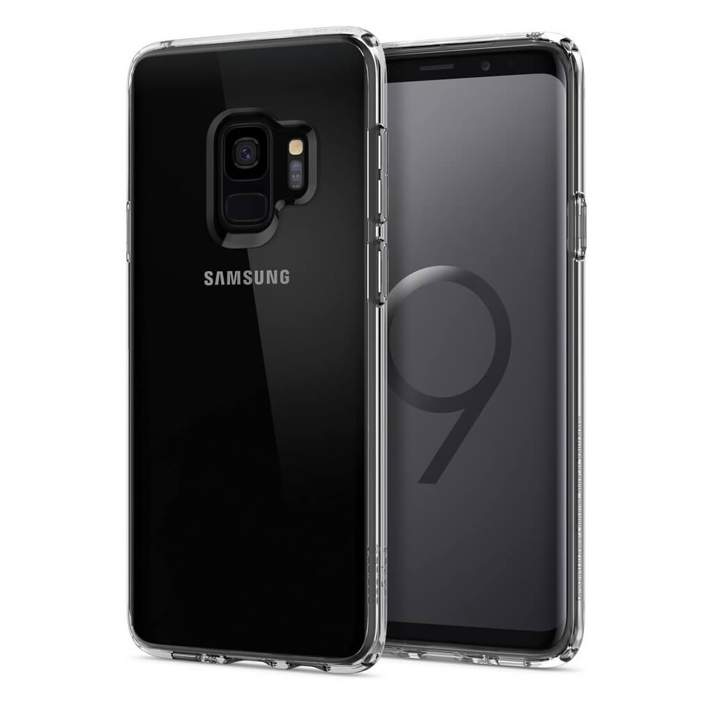Spigen® Ultra Hybrid™ 592CS22836 Samsung Galaxy S9 Case - Crystal Clear